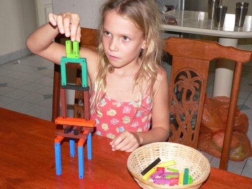 Savannah building with Cuisenaire Rods